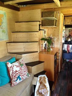 Margaret Designed An Built Her Own Beautiful Tiny Home - Tiny House for UsTiny House for Us