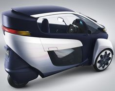 2013 Toyota introduces the concept i - an electric tricycle