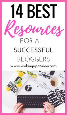 Top resources for bloggers who want to make money from their blog and start a blog that will be successful | Learn these tips on how to run a successful blog and make money blogging from affiliate marketing and money saving sites.