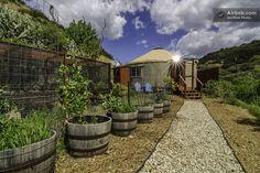 Malibu Yurt Retreat On Organic Farm in Malibu
