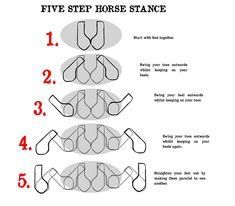 5-step horse stance