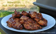 Hawaiian Huli Huli Chicken - we love this chicken with sticky rice that we used to get at the Wednesday Flea Market on Oahu
