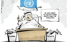 ...And this is why the UN is a sham ~ The decision to appoint a Saudi diplomat to chair the UNHRC's Consultative Group, responsible for the selection of dozens of experts charged with addressing human rights cases in countries around the world, has been met with astonishment given Saudi Arabia's human rights record.