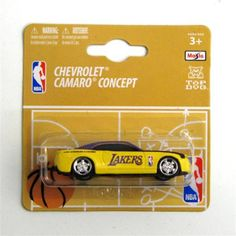 Chevy Camaro 1:64 Style - Los Angeles Laker