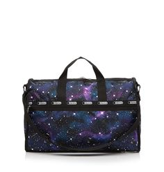 I have this in the hobo bag - LeSportsac Weekender - Outer Limits Large galaxy