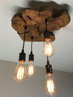 Restaurant Modern Live-Edge Olive Wood Light Fixture with Lights Rustic Industrial Chandelier Farmhouse Lighting Chandelier Farmhouse Lighting fixtures Fixture Industrial Light lights LiveEdge Modern Olive restaurant Rustic wood Lustre Industrial, Industrial Chandelier, Industrial Lighting, Industrial Light Fixtures, Rustic Lighting, Farmhouse Light Fixtures, Farmhouse Lighting, Diy Light Fixtures, Suspension Diy Luminaire