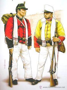 Militaria: Libro De Lujo Uniformes De La Guerra Del Pacifico Chile Peru Bolivia + DE 200 ILUSTRACIONES Y LAMINA - Foto 7 - 56547393