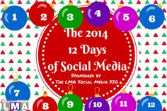 Did you know it is the LMA Social Media SIG's 12 Days of Social Media? Today is The 3rd Day, and is all about about one of my favorite topics.... LinkedIn!