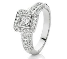 One Carat Diamond Engagement Ring. of Diamonds in White Gold. One Carat Diamond, Diamond Rings, Diamond Engagement Rings, Whole Heart, White Gold, Diamonds, Jewelry, Wedding, Valentines Day Weddings