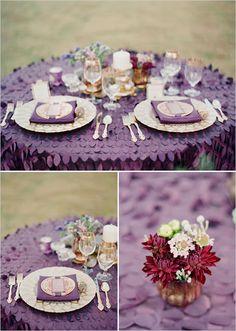 Wedding Inspirations   Plum Weddings   UBetts Rental & Design   Tablesetting
