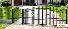 Wrought Iron, Metal Working, Fence, Gate, Flora, Outdoor Decor, Home Decor, Timber Wood, Decoration Home