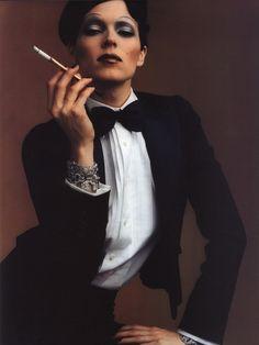 Vogue Spain - December 2000 Editorial: Historia De Lujo Model: Eleonora Bosé (Bimba) Photographer: Juan Gatti