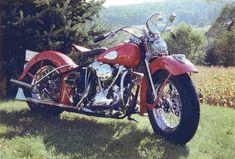 1939 Harley-Davidson Knucklehead #harleydavidson