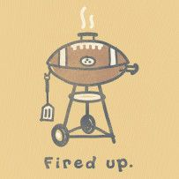 Get fired up for the game!  #Lifeisgood #Optimism #Football