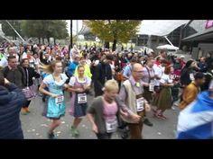 6. Münchner Trachtenlauf - Start am Coubertinplatz am 10.10.2015