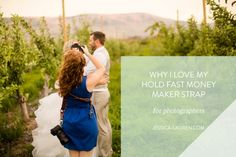 I'm so excited to share why I love my Hold Fast Money Maker strap!  I purchased the Hold Fast Money Maker strap last spring right before wedding season started, and it served me SO well for a multitude of reasons!