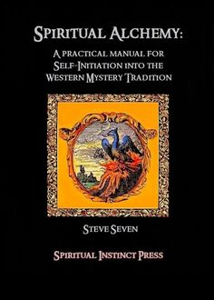 Spiritual Alchemy: A Practical manual for self-initiation into the Western Mystery Tradition. The seven stages of alchemy are described as well as a good overview of important symbols and concepts attached to the art. Occult Books, Witchcraft Books, Occult Art, Alchemy Art, Wiccan Spell Book, Spirit Science, Reading Rainbow, Inspirational Books, Magick