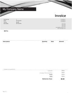 Car Rental Invoice Template Free Enterprise Car Rental Invoice