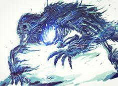 Monster Design, Monster Art, Mythical Creatures Art, Fantasy Creatures, Dark Fantasy Art, Dark Art, Old Blood, Dark Blood, Bloodborne Art