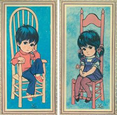 Boy -Girl pictures- I had these