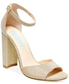 Blue by Betsey Johnson Carly Block-Heel Sandals