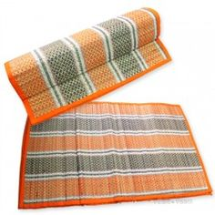 Kusha Aasan, Meditation Mats, Free Shipping, Vedicvaani.com. online seller of Darbhasan for Puja, homam. Natural Handicraft small Durva grass Mat from India. The small Mat made for meditation. All kind of evil forces like, ghosts,spirits,demons,etc.keep away from the place where it is used.This is considered to be the holiest of all the thirthas here,and is believed to be the spot where Gowtama Rishi finally secured Ganga on earth by spreading http://vedicvaani.com/Kusha-Aasan .