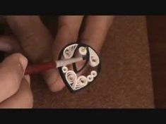 How-to make paper quilling jewellery earrigs for beginers and professionals.PART - 2 (varnishing) - YouTube