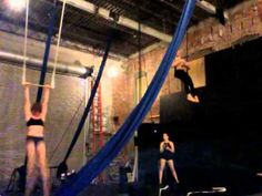 Static Trapeze tricks-The Dolphin - YouTube