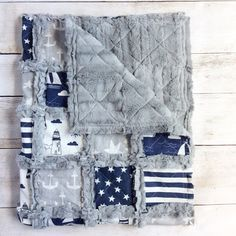 Nautical Crib Quilt Nautical Nursery Bedding Nautical Blanket - http://babyfur.net/nautical-crib-quilt-nautical-nursery-bedding-nautical-blanket/