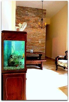 Detalle del interior del apartamento. Aquarium, Flat Screen, Apartments, Flats, Shared Bathroom, Windows, Beds, Interiors, Goldfish Bowl