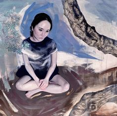 Kai Fine Art is an art website, shows painting and illustration works all over the world. Portrait Inspiration, Painting Inspiration, Figure Painting, Figure Drawing, Modern Portraits, Hyperrealism, Human Emotions, Mixed Media Artists, Kai