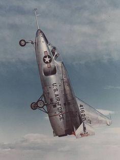 ryan x-13 experimental vertijet 1950s in vertical flight