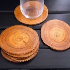 Wood CoastersCoasters Around the holidays, there's bound to be a lot of company at the house. Use tree-slice coasters to protect the finish on your coffee and side tables from spills. Made from smaller tree branches and sealed with mineral oil, these can also be bundled together as a set to make a host or hostess gift. To skip the DIY route, try this readymade version from Terrain