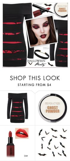 """""""Halloween dress"""" by mycherryblossom ❤ liked on Polyvore featuring La Roche-Posay"""