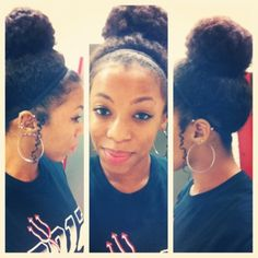 Bunning is great for year-round length retention! #protectivestyles #naturalhair