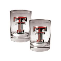 Texas Tech Red Raiders 2-pc. Rocks Glass Set, Multicolor, Durable