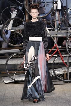 Antonio Marras Spring Summer 2015 Main Collection // Amazing long pleated skirt!!!