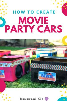 Use your imagination to bring the drive-in to your backyard!