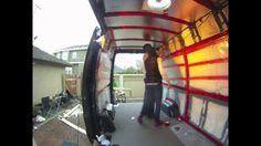 How to insulate a camper van - Mercedes Sprinter (the interior of that RV looks pretty narrow :-()