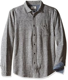 Listed Price: $59.95 Sale Price: $33.59 Core fit long sleeve yarn dyed plaid woven shirt. Wave washed... Read more...