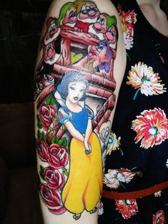 Sleeve Disney Tattoo