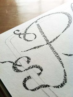 LINDA KITTMER'S FIBRE ART, PHOTOGRAPHY & JOURNALLING  -lettering idea (could also say, 'pray').