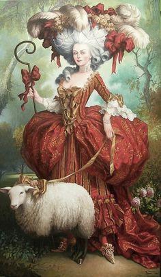 Marie Antoinette #rococco return