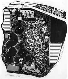 Roberto Burle Marx, Parque Del Este, Caracas, Venezuela, 1956