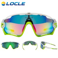 LOCLE Polarized Cycling Glasses Goggles UV400 TR90 Bicycle Sunglasses Anti-Fog Cycling Eyewear Gafas Ciclismo With Myopia Frame #clothing,#shoes,#jewelry,#women,#men,#hats,#watches,#belts,#fashion,#style