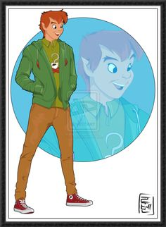 Disney Characters as College Students by Ruben