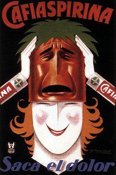 Cafiaspirina #Publicidad #Ad #Vintage