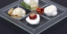 Antipasti : Déclinaison de mozzarella  Chez :  Simone e nicola  92 Rue de la Roquette   75011 Paris