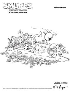 Live It Beautiful Has Got A List Of Smurfs The Lost Village 2017 Coloring Pages For Them Take Look At 2