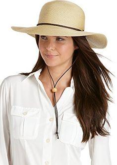 4a9f3497fa3 FORBUSITE UPF 50 Women s SmartStraw Sedona Sun Hat - Sun Protective Hiking  Hat